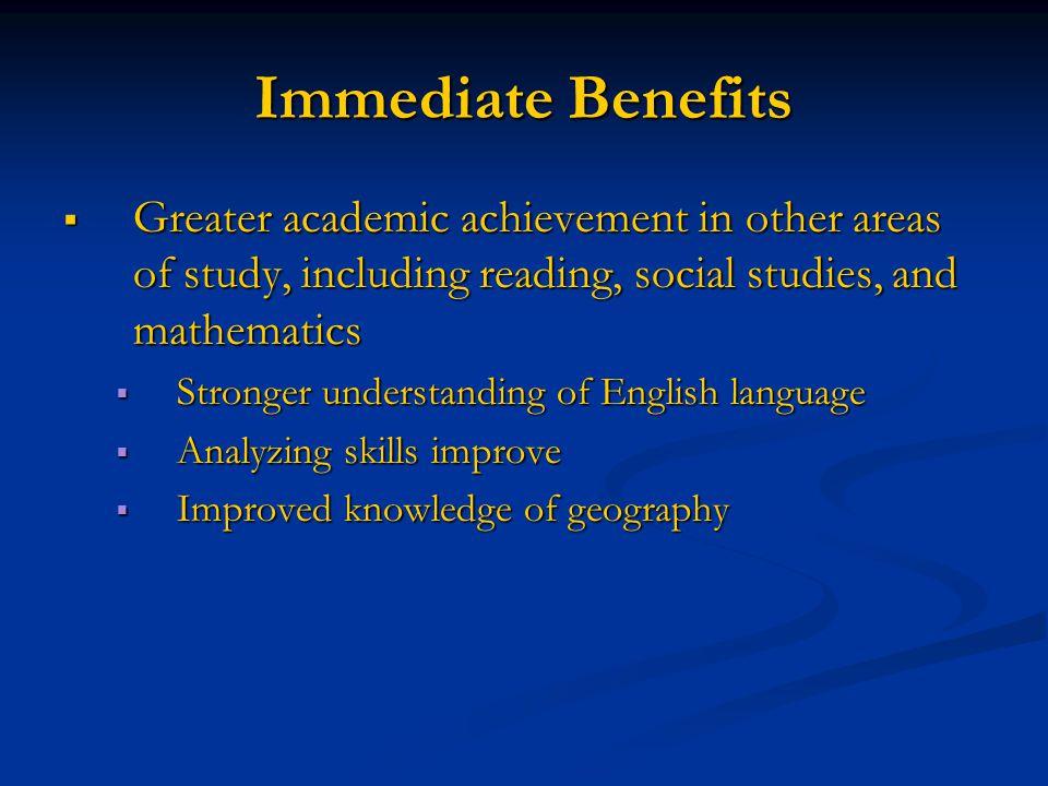 benefits of english language