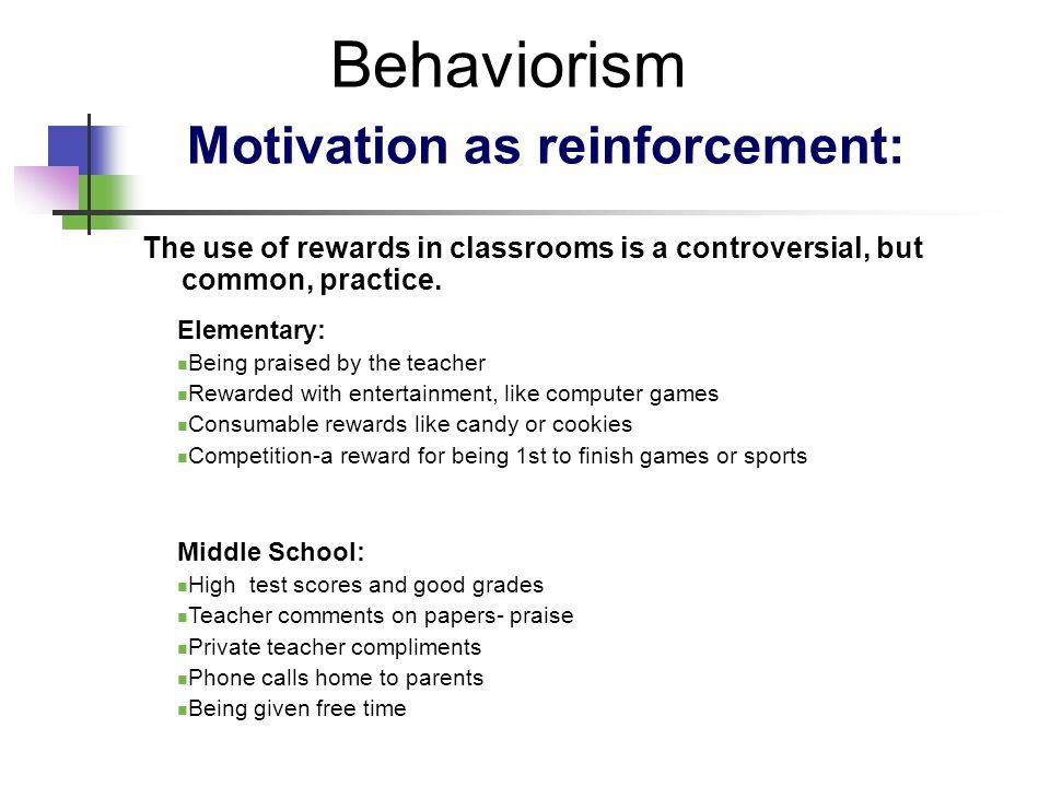 behaviorist teacher