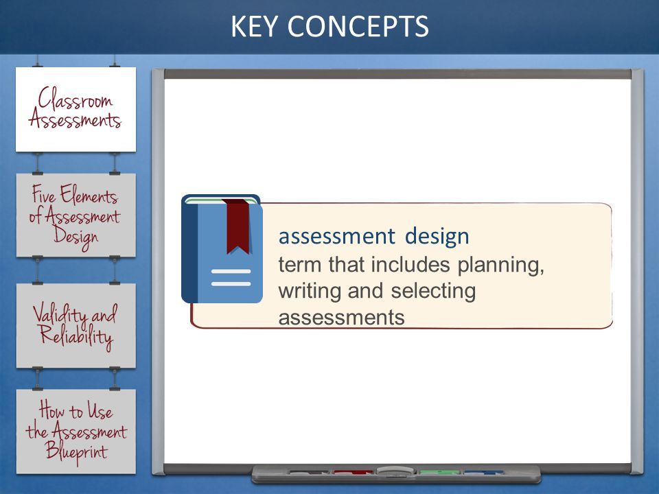 12essment Design Term That Includes Planning Writing And Selecting Essments