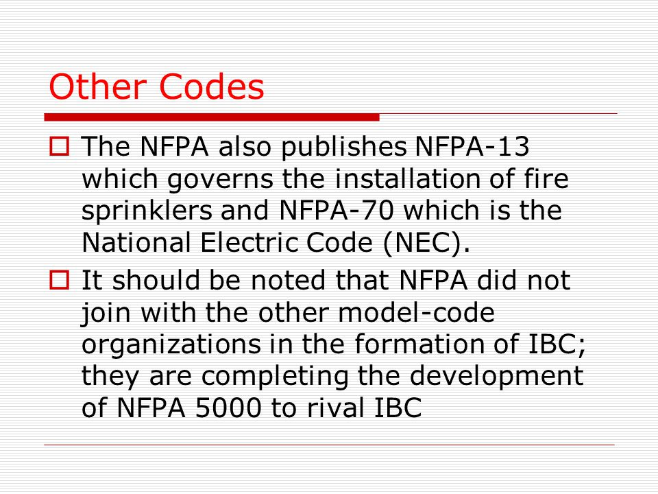 Building Codes Violation of building codes and regulations can cause ...