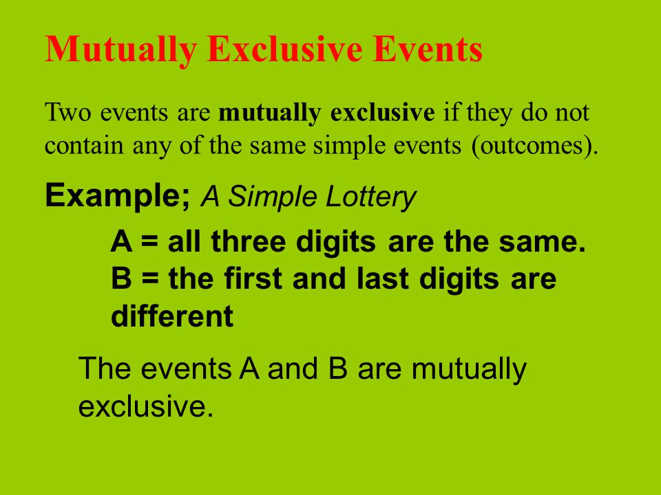 Probability Cont Assigning Probabilities A Probability Is A