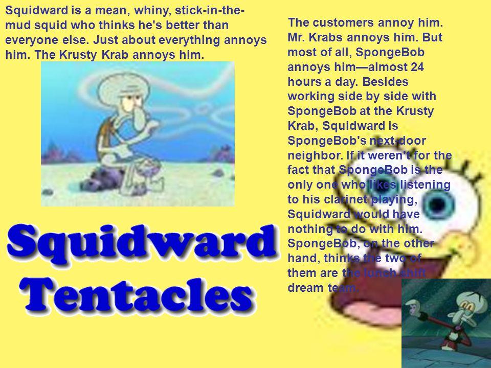 By: Jeanet Wiley Main Characters Spongebob Squarepants Patrick Star