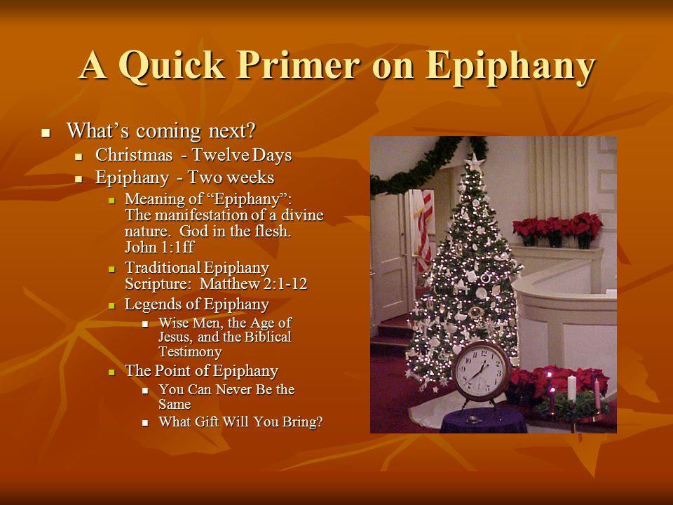 12 days of christmas epiphany