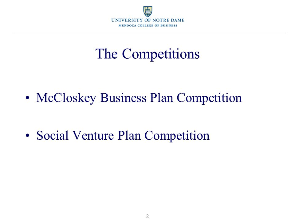 Business Plan Competitions Training Session— Judges Perspective