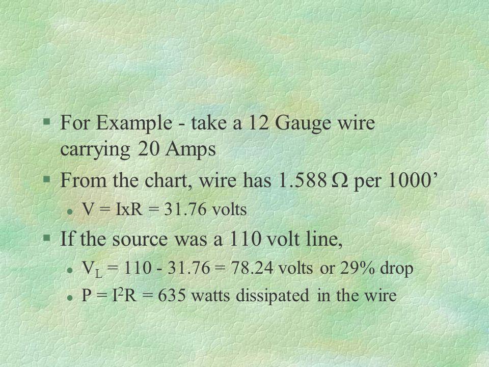 EET Electronics Survey Chapter 9 - Circuit Conductors & Wire Sizes ...