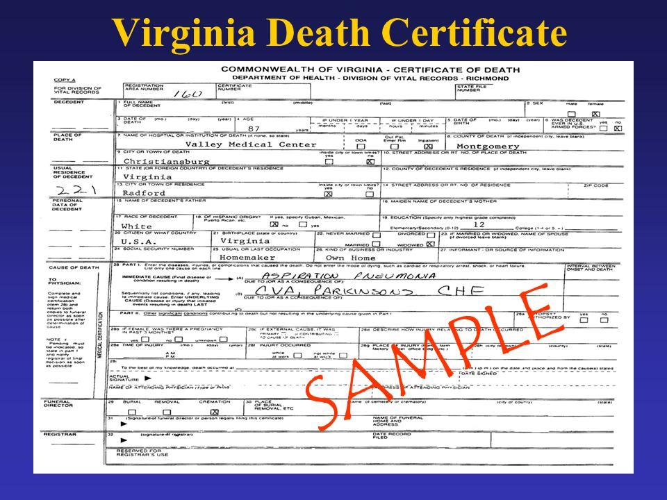 Public Health Surveillance Diane Woolard, Ph.D., M.P.H. Division of ...