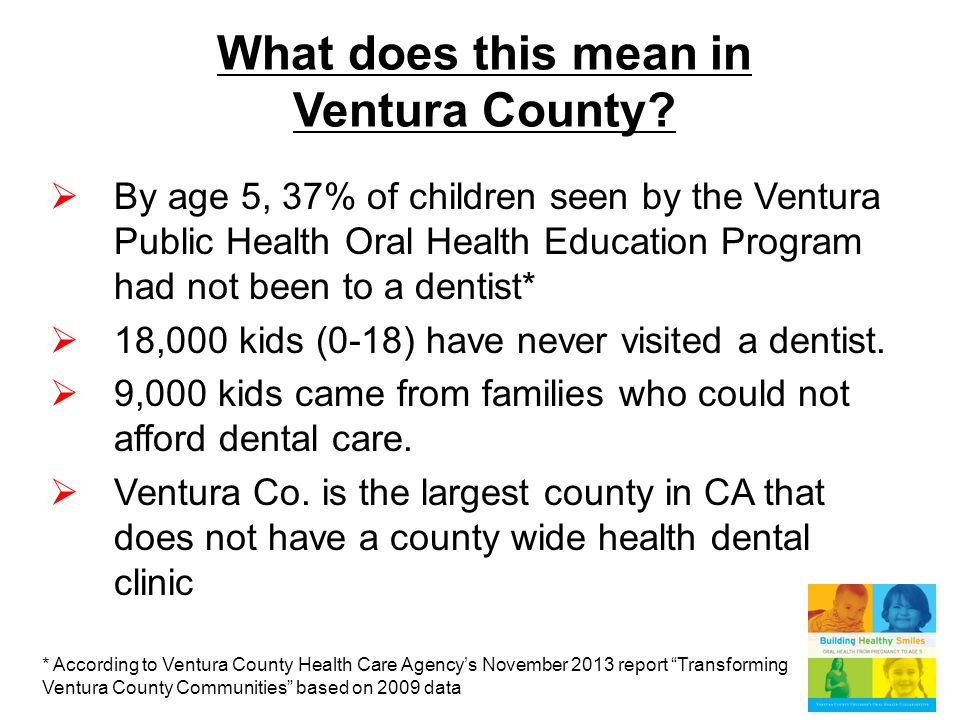 What does this mean in Ventura County.