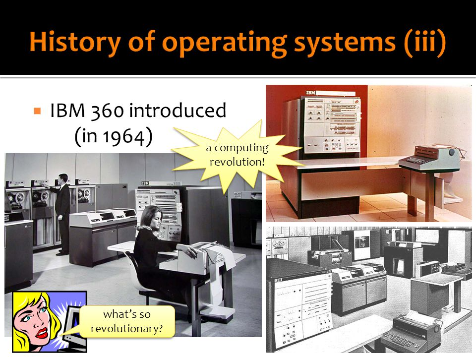  IBM 360 introduced (in 1964) a computing revolution! what's so revolutionary