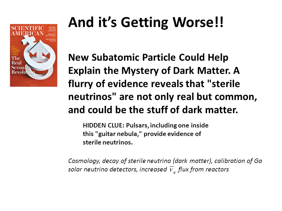 New Subatomic Particle Could Help Explain the Mystery of Dark Matter.