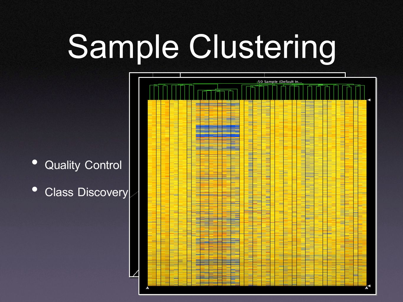 Sample Clustering Quality Control Class Discovery