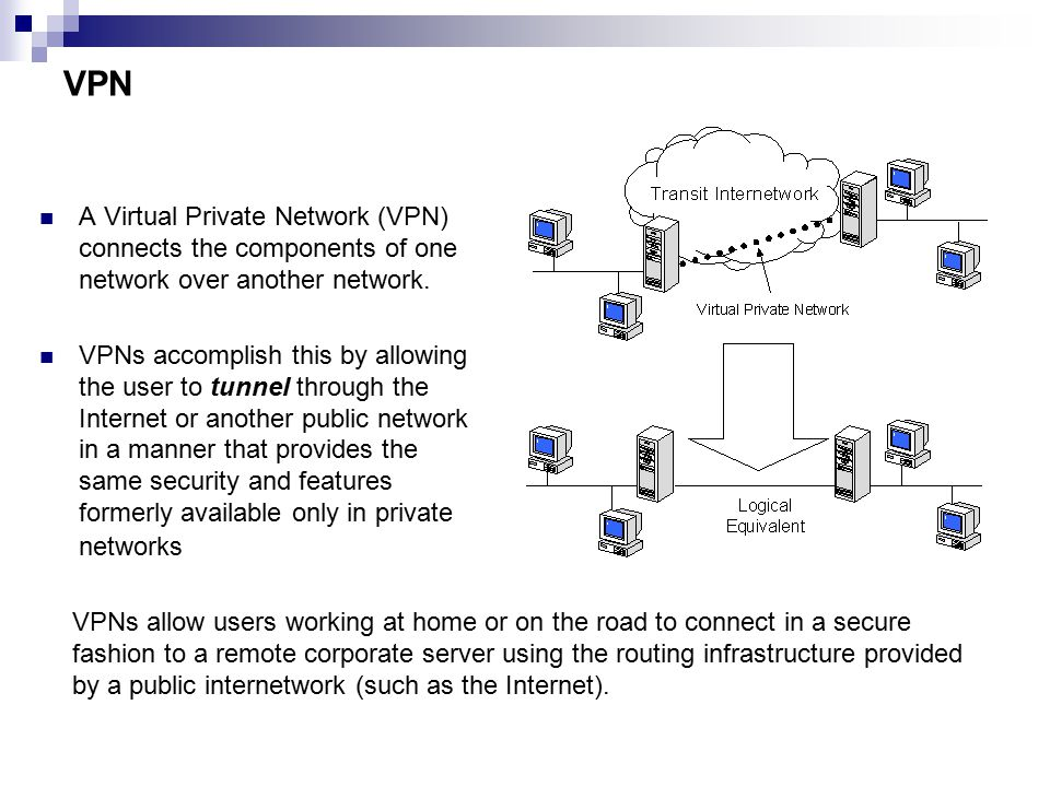 what is virtual private network and how does it work