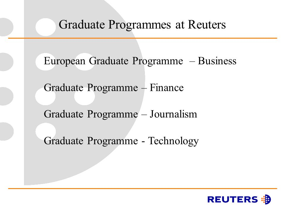Reuters journalism training programme 2018 youth opportunities.