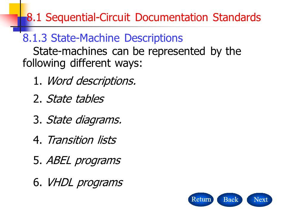3 Flip Flops Returnnext 81 Sequential Circuit Documentation