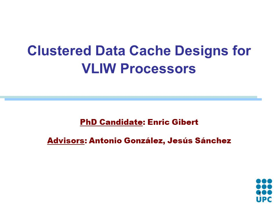 Candidating processors