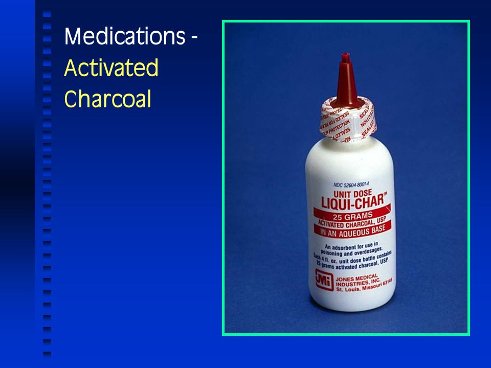 Medications - Activated Charcoal