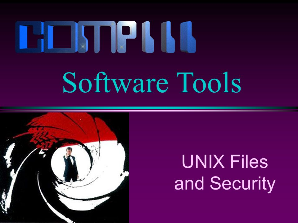 UNIX Files and Security Software Tools