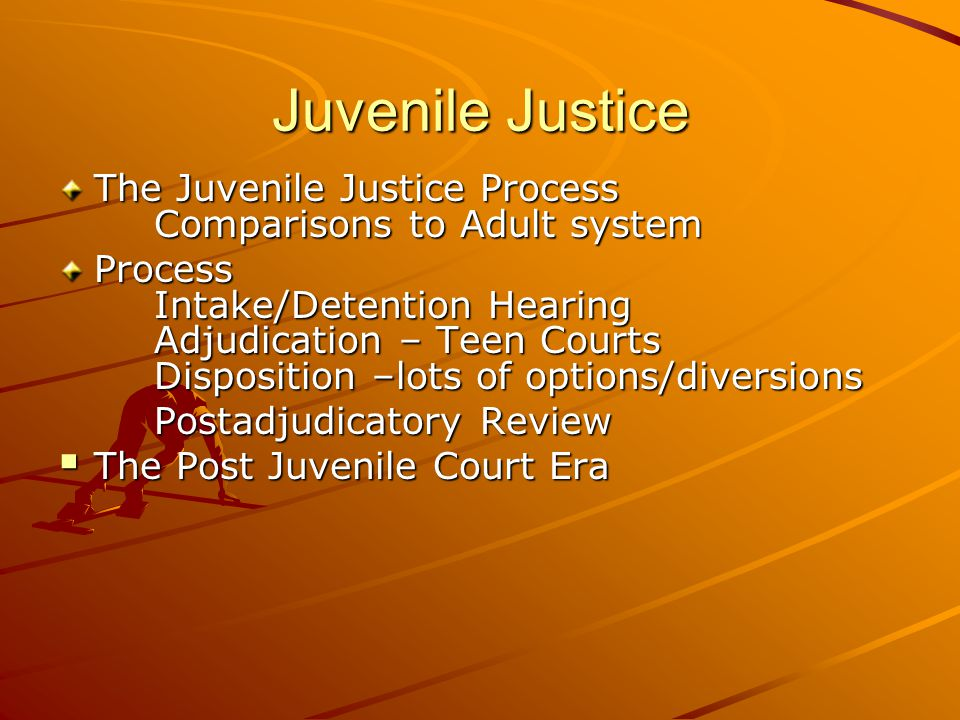 Justice system teen court