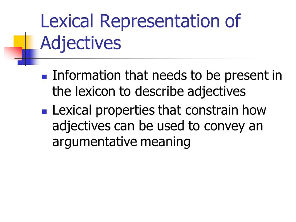 argumentative meaning