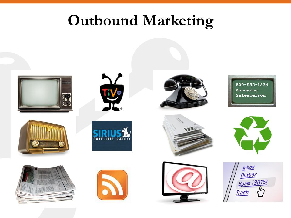 Outbound Marketing Annoying Salesperson