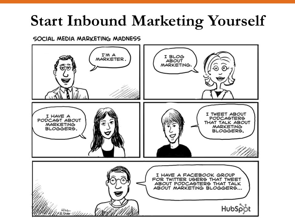 Start Inbound Marketing Yourself