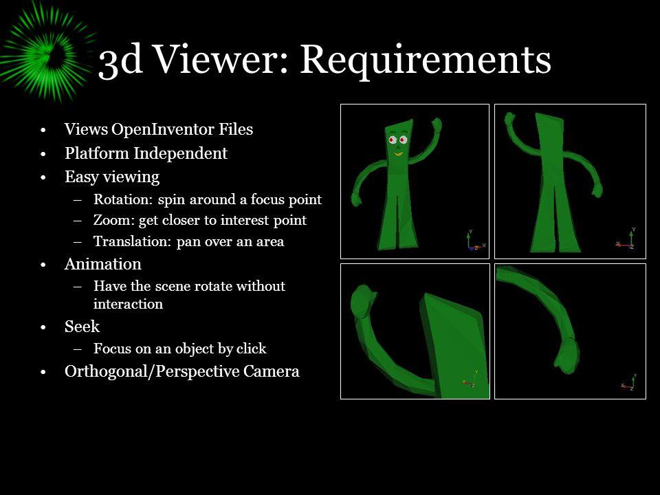 Summer Work: 3d Viewer Medial Axis Viewer Mesh Editor