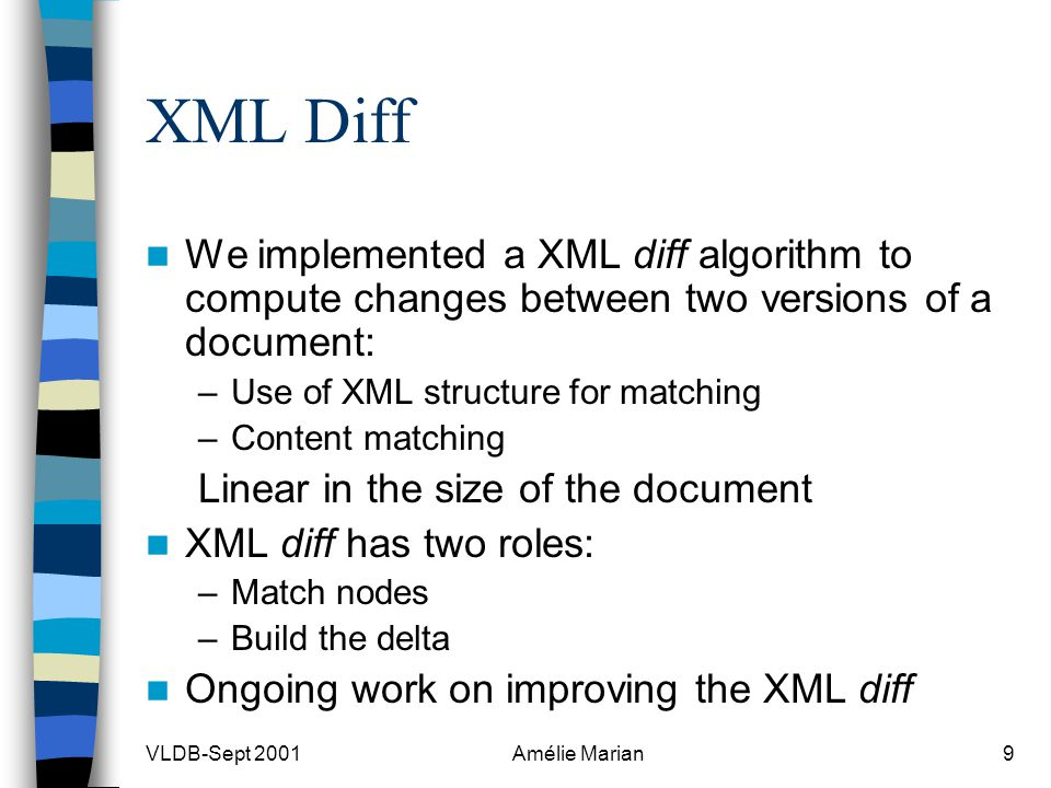 Change-Centric Management of Versions in an XML Warehouse