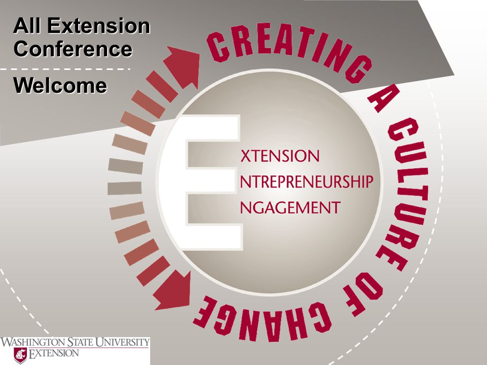 All Extension Conference Welcome