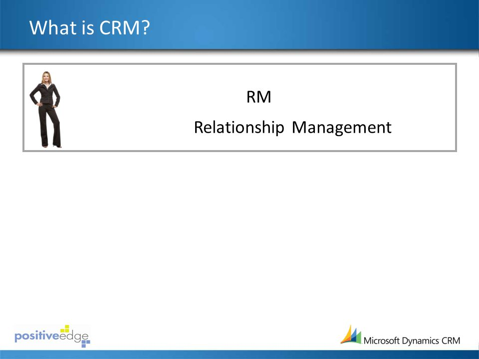 What is CRM CRM Customer Relationship Management