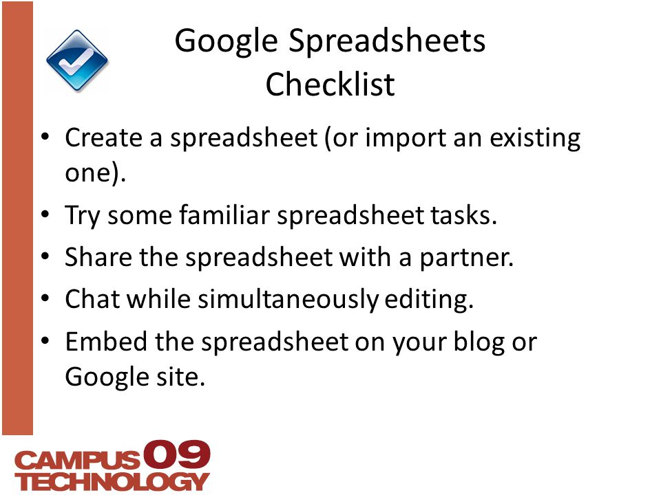 Maps On A Spreadsheet And Other Google Collaboration Tools Mark - Google spreadsheet checklist