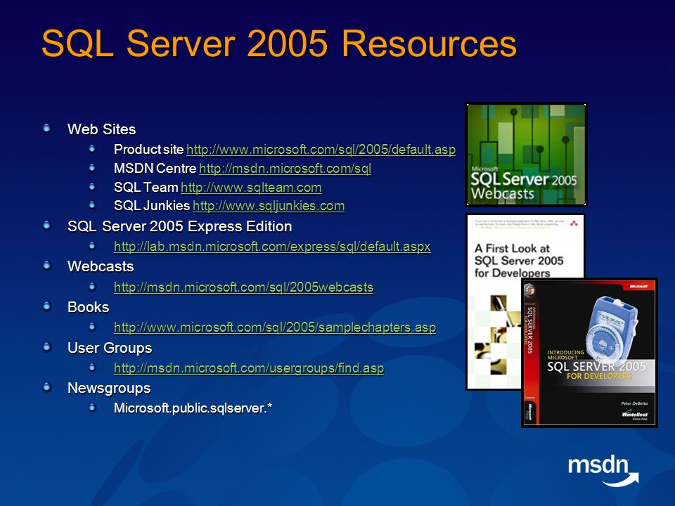 SQL Server 2005 CLR Integration ADO NET 2 0 Mike Taulty
