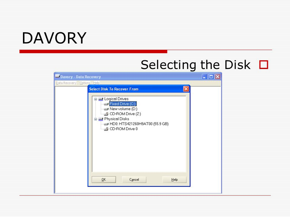 davory data recovery