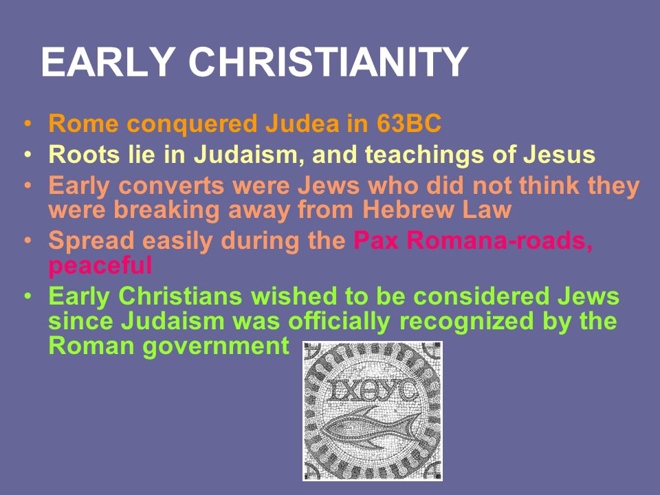 an overview of the earliest recorded text of christianity in judaism Christianity and judaism appear to be alike in their beliefs and faiths one would say there is a great similarity between the two when it comes to their belief in god so it should be understood that both christianity and judaism differed much only in the conception of the person of jesus christ.