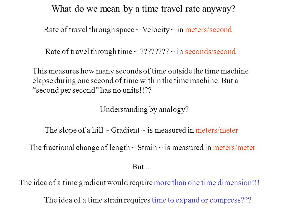 Is there a velocity addition law for time travel rates.