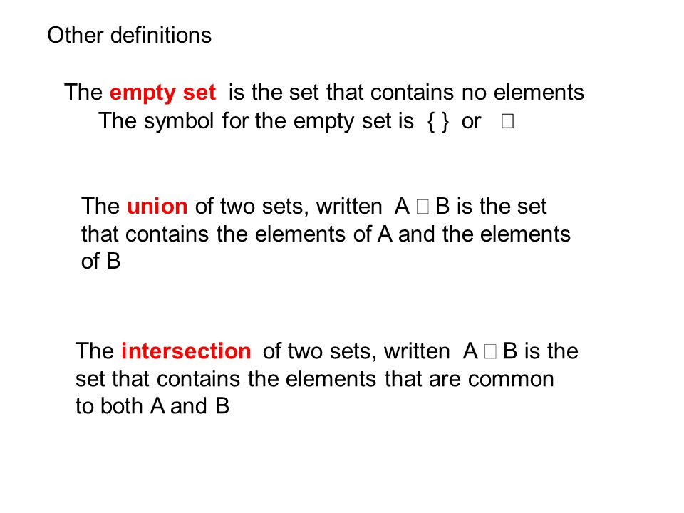 Math 010 Unit 6 Lesson 4 Objectives To Write A Set In Roster