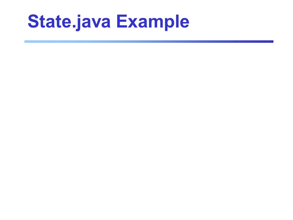 State.java Example