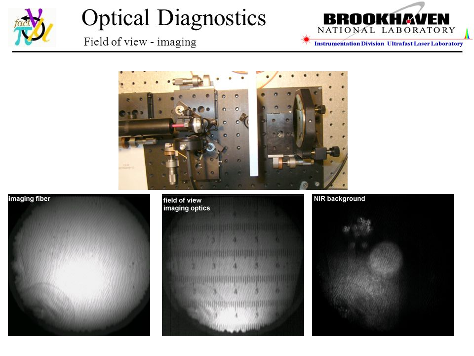 Optical Diagnostics Field of view - imaging
