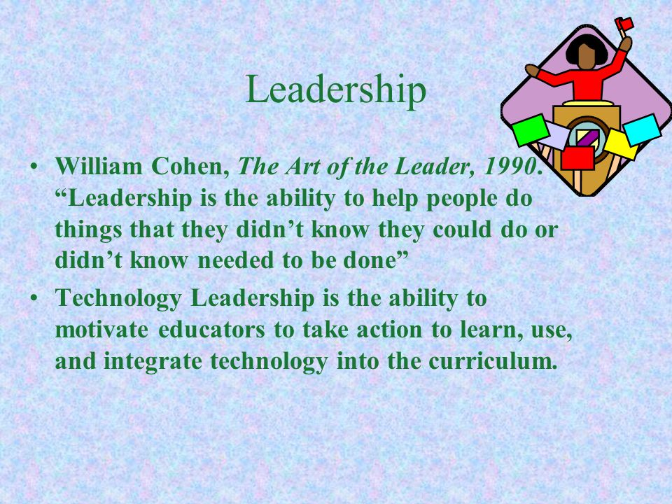 Technology Leaders Do you consider yourself a technology leader now.
