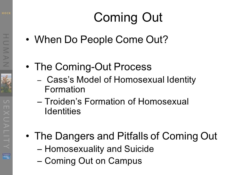 Troidens formation of homosexual identities