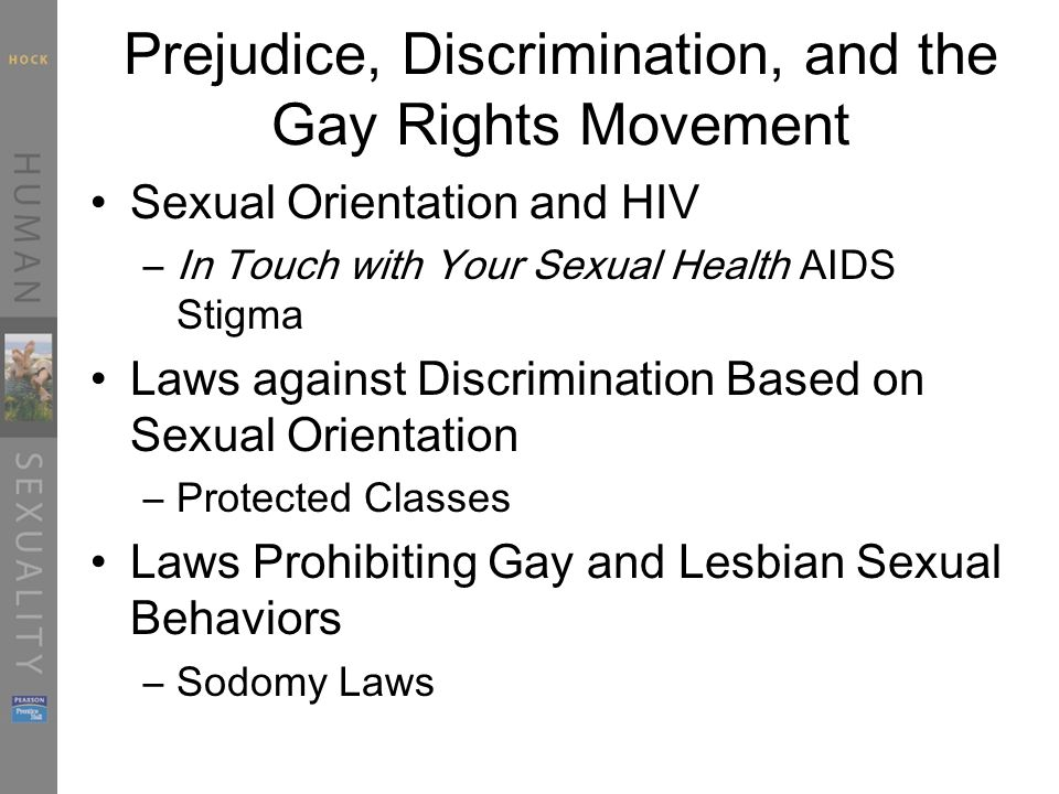 Sexual orientation discrimination protected classes