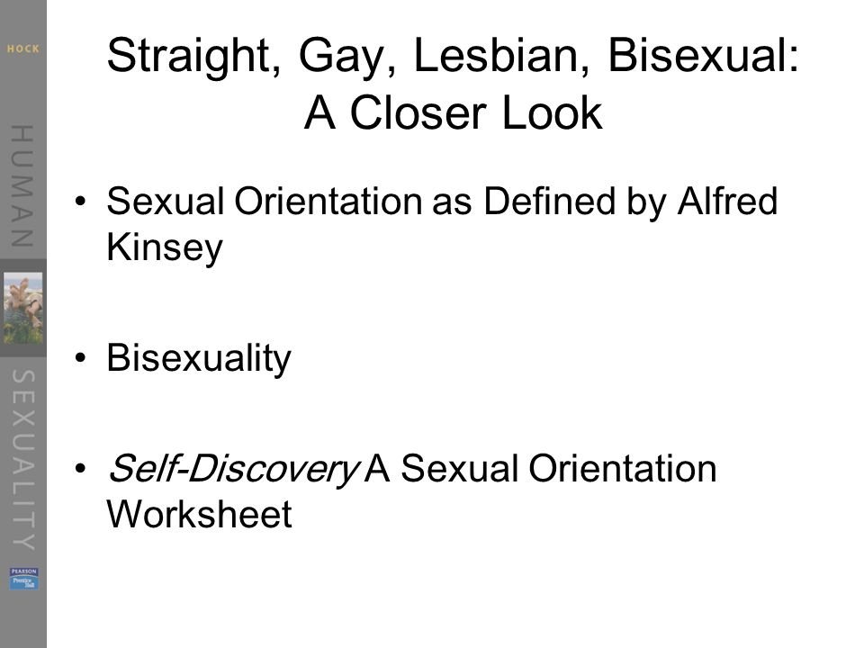 History from different perspectives on sexual orientation