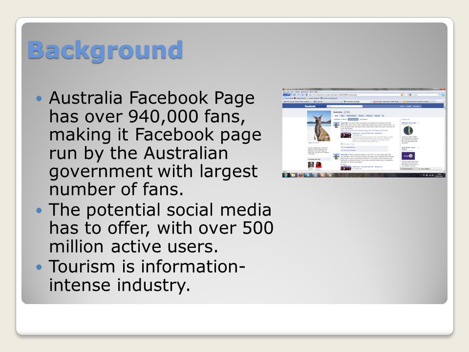 Australian facebook pages