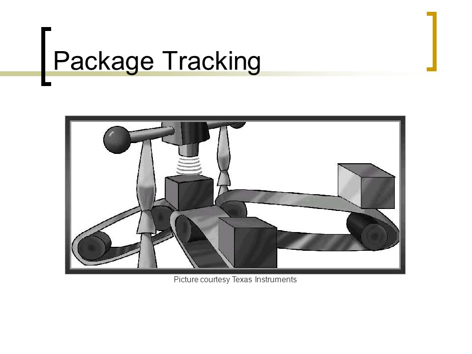 Package Tracking Picture courtesy Texas Instruments