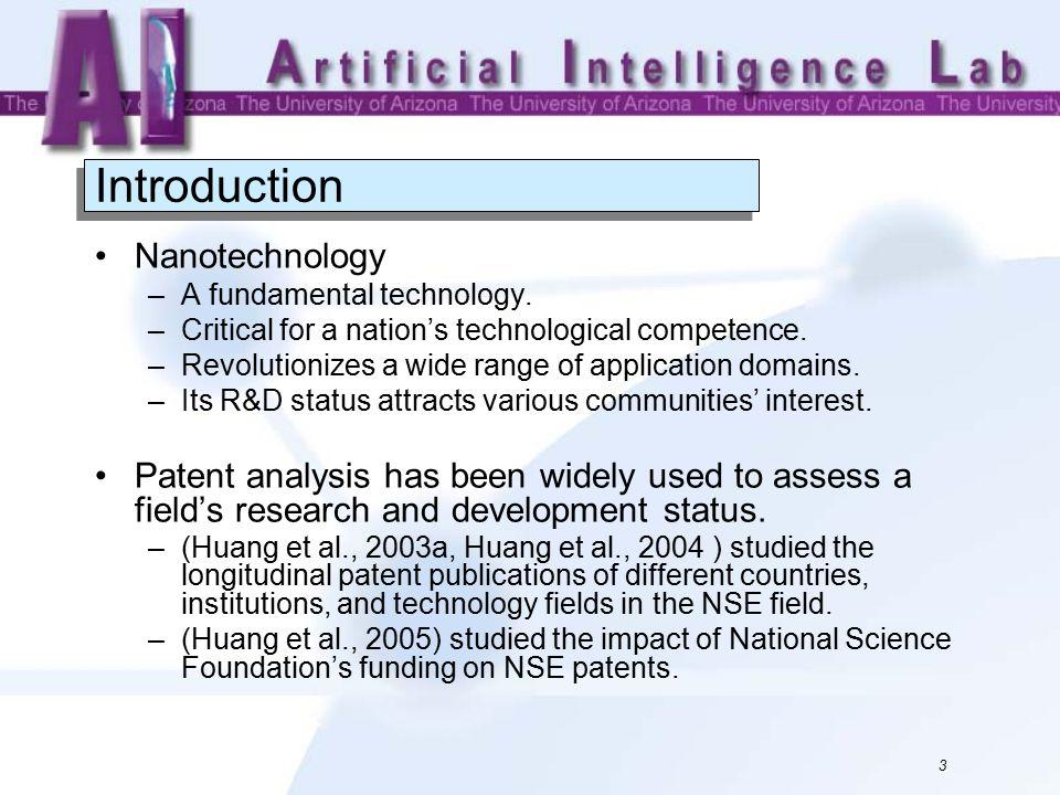 Worldwide Nanotechnology Development: A Comparative Study of