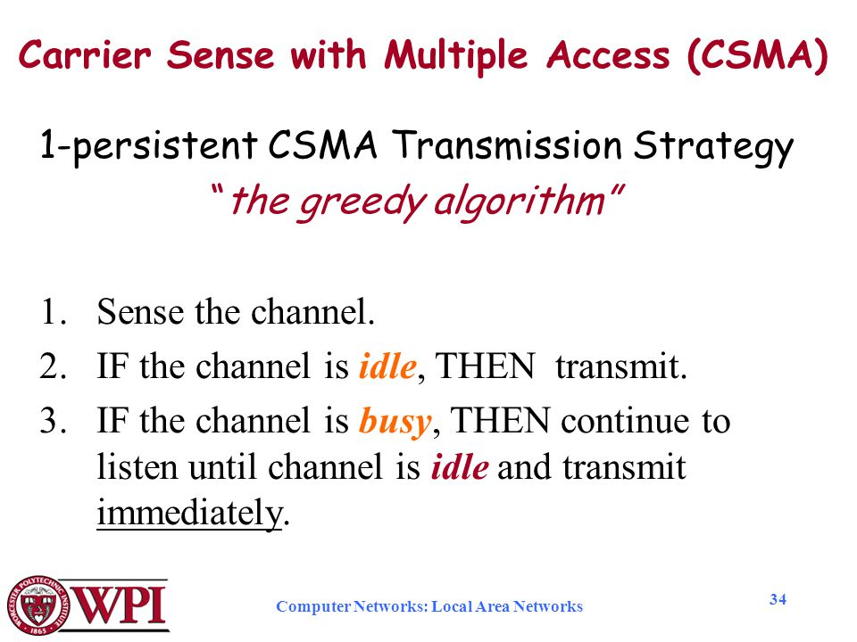 CSMA IN COMPUTER NETWORK EBOOK DOWNLOAD