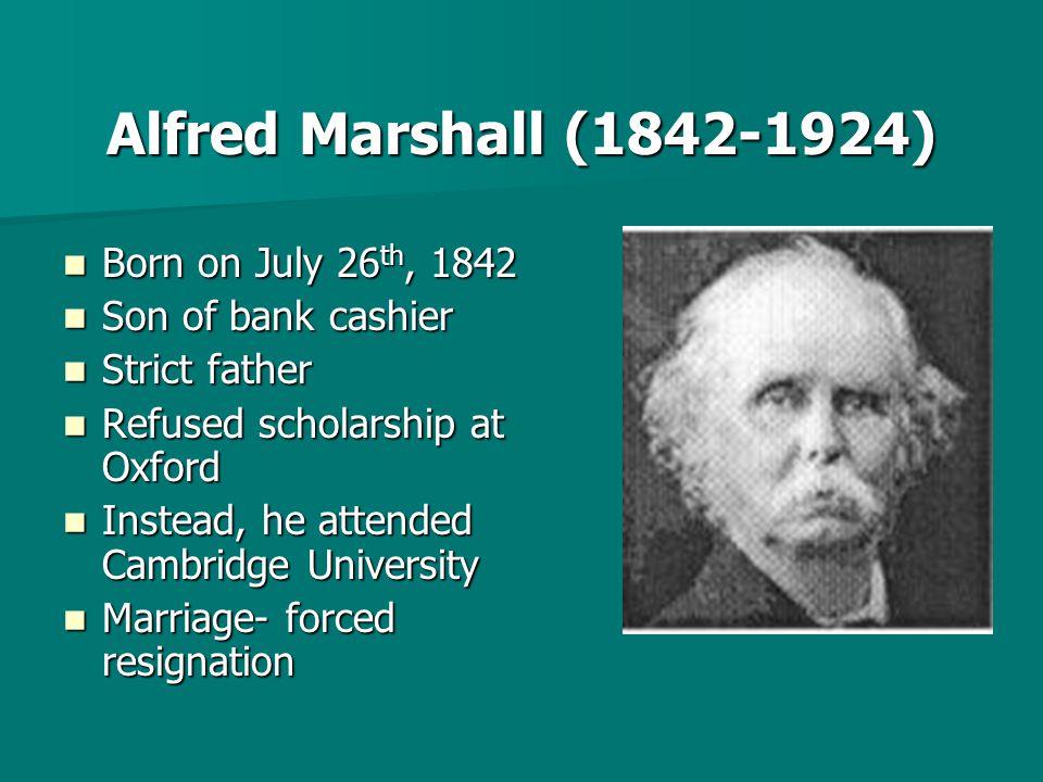 Alfred marshall pain and pleasure