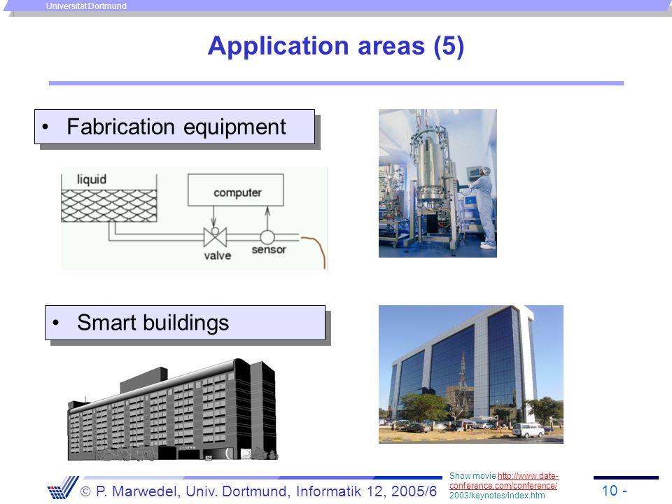1 -  P  Marwedel, Univ  Dortmund, Informatik 12, 2005/6