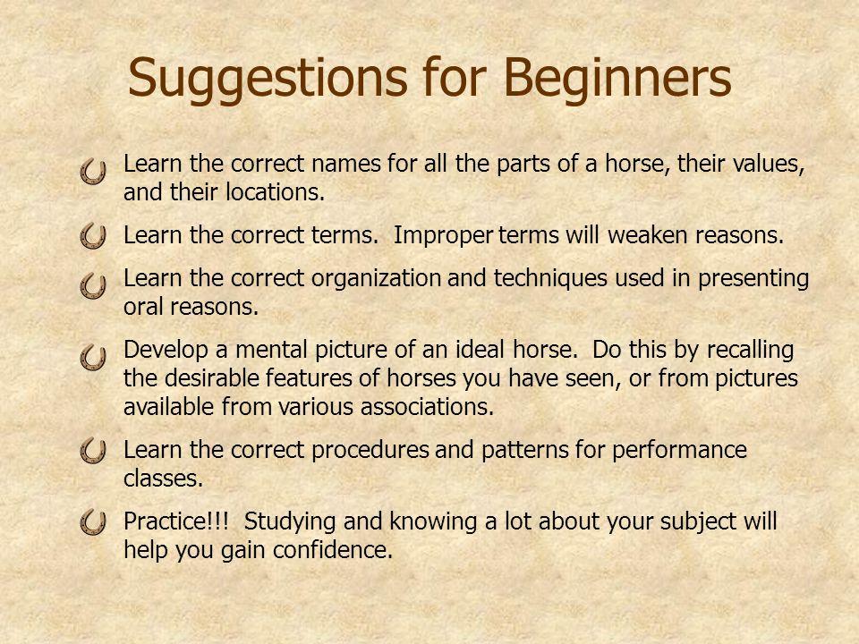 Source Msu Es Horse Judging Activities I V Form 819 820 821 822