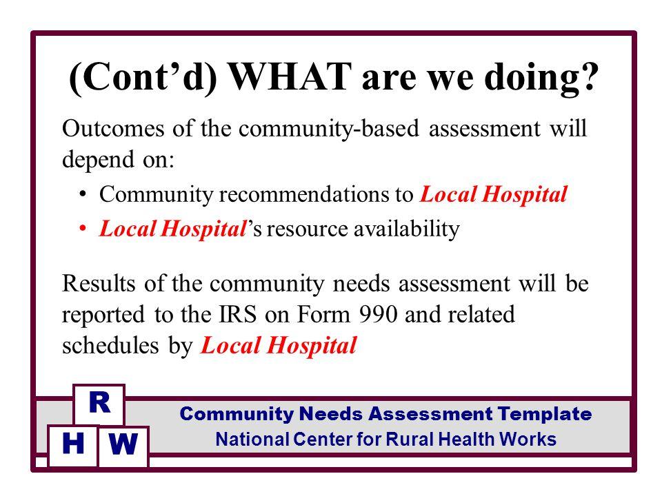 Facilitated by facilitator community needs assessment template 3 maxwellsz