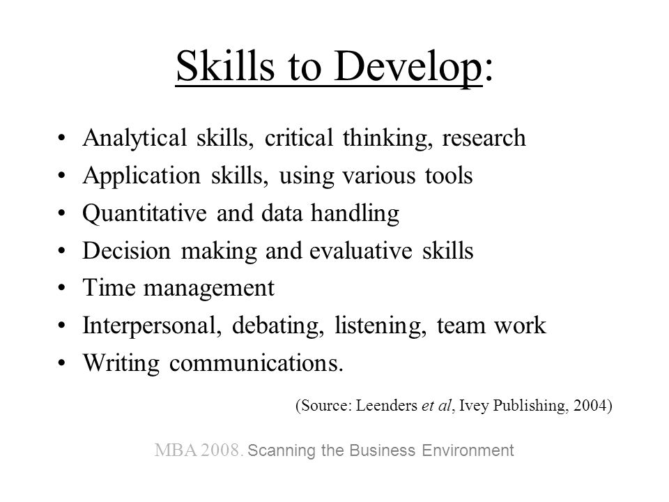 business ethics developing analytical & critical thinking skills Qut law & justice volume 12 number 1 2012 66 logical, critical and creative: teaching 'thinking skills' to law students nick james the australian learning and teaching council's bachelor of laws.