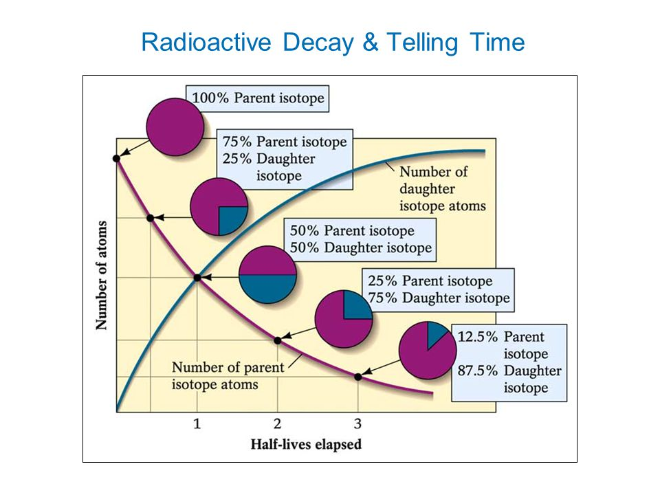 parent and daughter isotopes